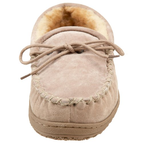 Vecchio Amico Mens Mocassino Pantofola Castagna