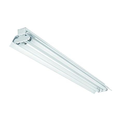 Lámpara Luz tira EVG con reflector con tubos fluorescentes 2 ...