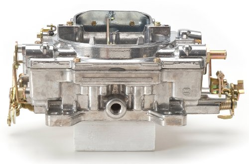 Edelbrock 1407 Performer 750 CFM Square Bore 4-Barrel Air Valve Secondary Manual Choke New (1972 Pontiac Firebird Manual)
