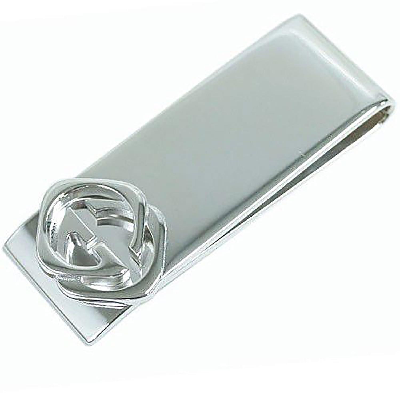 (グッチ) GUCCI 財布 228128-8106 メンズ マネークリップ ダブルG シルバー925 [並行輸入品] B01N0R317N