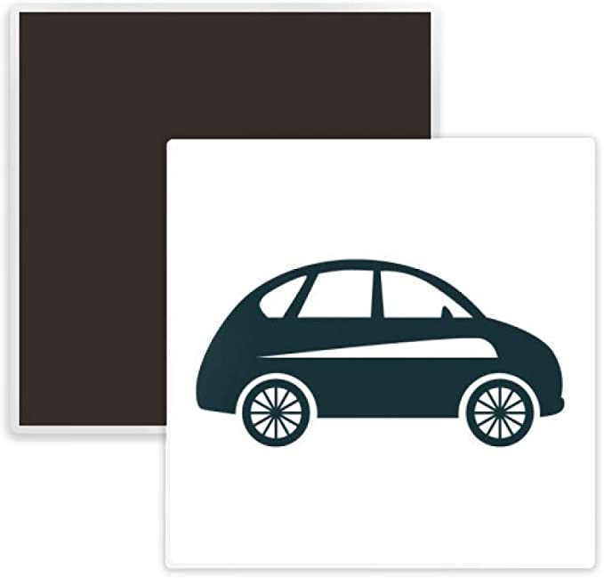 Old Green Car Magnet 2 inch Square