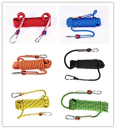 LINSGROUP Diameter 12mm Professional Climbing Rope Rock Climbing Rope Static Rope Abseiling Rope Climbing Cord Climbing Equipment