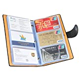 Business Card Organizer, iBayam 300 Slots Business Card Holder Cards Organizer for Gift Cards Pokemon Cards ID Card Visting Card Business Cards(Black - 300)