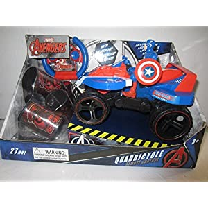 Captain America Quadricycle Quad Car Remote Control R/C