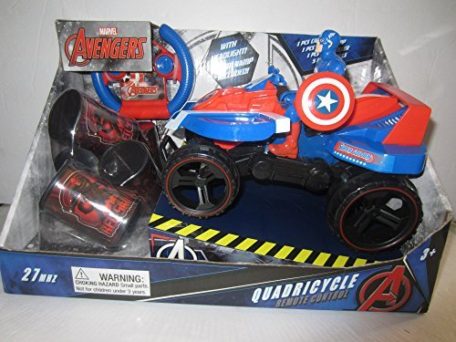Captain Control (Captain America Quadricycle Quad Car Remote Control R/C)