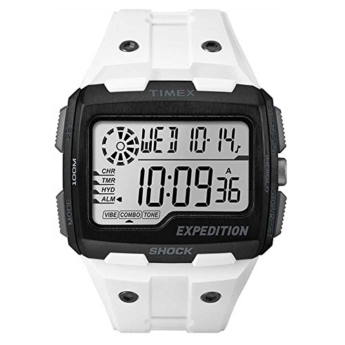 Timex Men's TW4B04000 Expedition Grid Shock White Resin S...