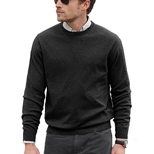 100% Cashmere Crew Sweater - 5