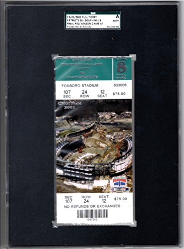 New England Patriots Foxboro Stadium - 4