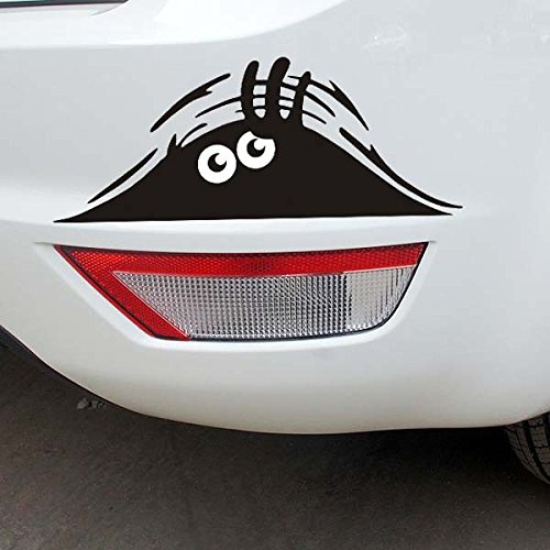 Besplore Peeking Monster Scary Eyes Car Decal,Sticker for Laptop Ipad Window Wall Car Truck - Hours Target Chicago