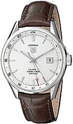TAG Heuer Men's WAR2011.FC6291 Carrera Analog Display Swiss Automatic Brown Watch