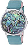 Fossil Women's ES4166 Vintage Muse Three-Hand Teal Leather Watch