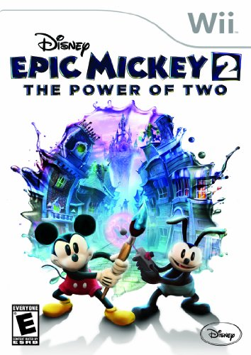Disney Epic Mickey 2: The Power of Two - Nintendo Wii (Kids Games For Wii)