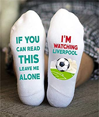 Liverpool Socks Football Funny Birthday Gifts Soccer Game