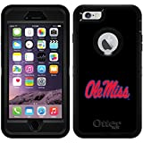 Mississippi - Ole Miss design on Black OtterBox Defender Series Case for iPhone 6 Plus and iPhone 6s Plus