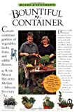 Amazon / Workman Publishing Company: McGee Stuckey s Bountiful Container Create Container Gardens of Vegetables, Herbs, Fruits, and Edible Flowers (Rose Marie Nichols McGee) (Maggie Stuckey)