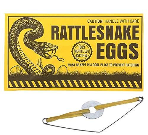 로드 아일랜드 참신 농담 방울뱀 계란 봉투 주문 당 12 개
