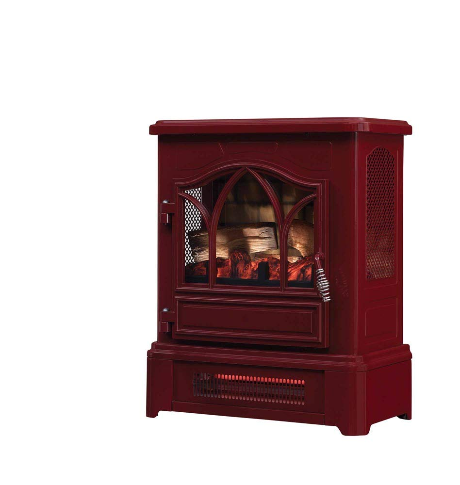 Duraflame Electric DFI-470-08 Infrared Quartz Fireplace Stove Heater, Cinnamon by Duraflame Electric