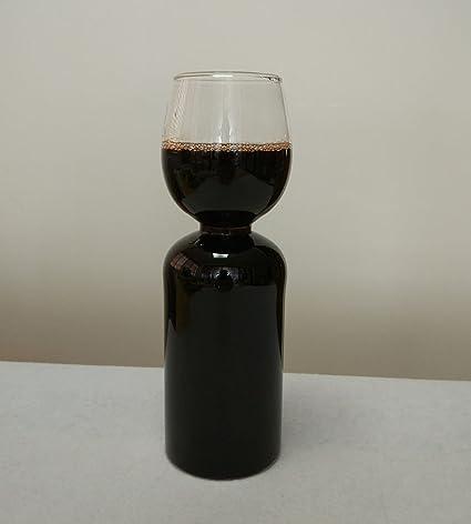 Decantador de vino botella de vidrio (630 ml nueva boda regalo de Navidad