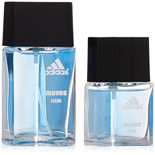 Adidas Moves By Adidas For Men. Gift Set (Eau De Toilette Spray 1.0 Oz + Eau De Toilette Spray 0.5 Oz) by adidas