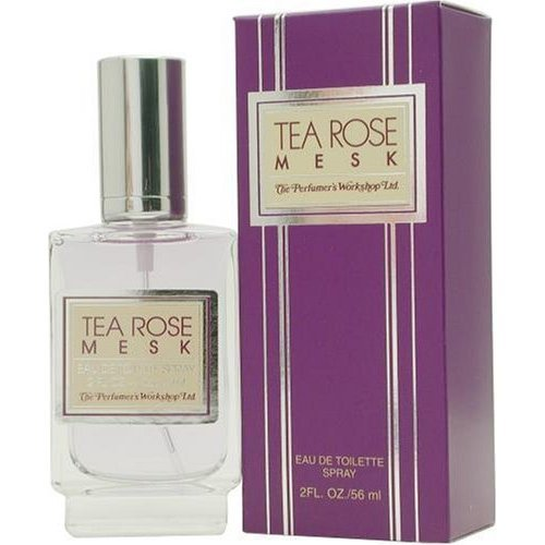 - Tea Rose Mesk by Perfumers Workshop Eau De Toilette Spray 2 oz for Women