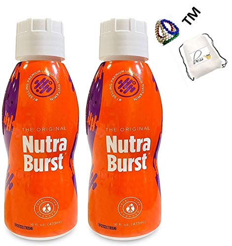 Multivitamin Liquid 16 Fl. Oz 470 Ml (32 Servings) Burst of Energy Vitamin Two Months Supply