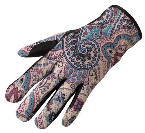 Kerrits Gloves (Kerrits Aerator Glove Blue Lotus Size: Small)