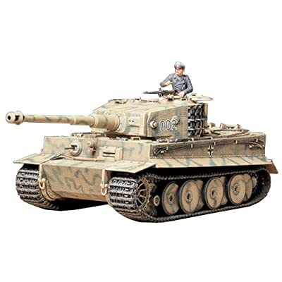 Tamiya Models 35194 Tiger I Mid Production: Toys & Games