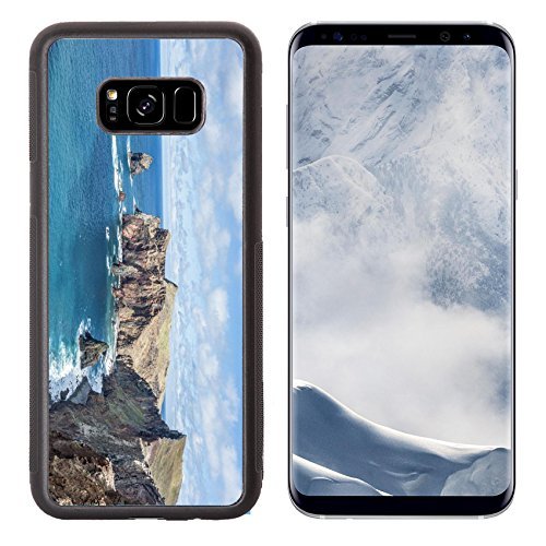 Luxlady Samsung Galaxy S8 Plus S8+ Aluminum Backplate Bumper Snap Case IMAGE ID: 34623006 Madeira - Mobile Hills Chino T