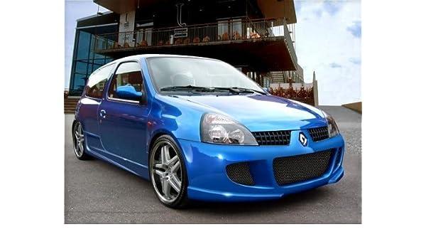 Renault Clio MK2 Rendimiento deportivo Parachoques Delantero 2001 - 2006: Amazon.es: Coche y moto