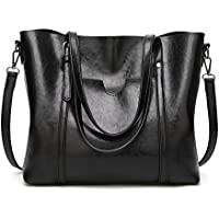 SIFINI Women Fashion Top Handle Satchel Handbags Shoulder Bag Tote Purse Crossbody Bag
