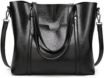 SIFINI Women Fashion Top Handle Satchel Handbags Shoulder Bag