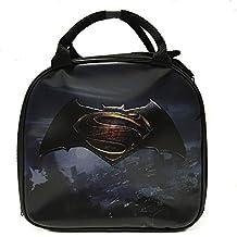 DC Comics Batman VS Superman Insulated Lunch Bag w/ Water Bottle (LOGO)