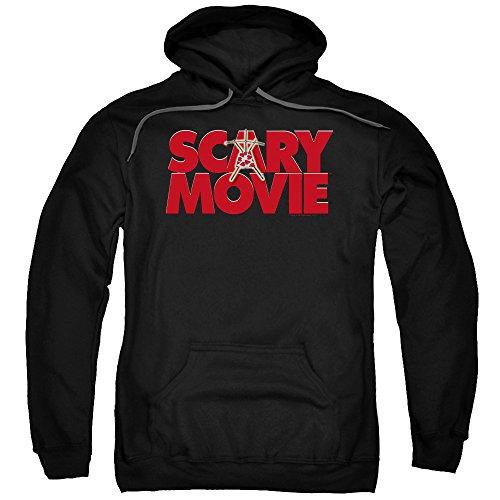 A&E Designs Scary Movie Logo Hoodie, Black, 2XL]()