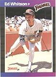 1989 Donruss Baseball Card #229 Ed Whitson Mint