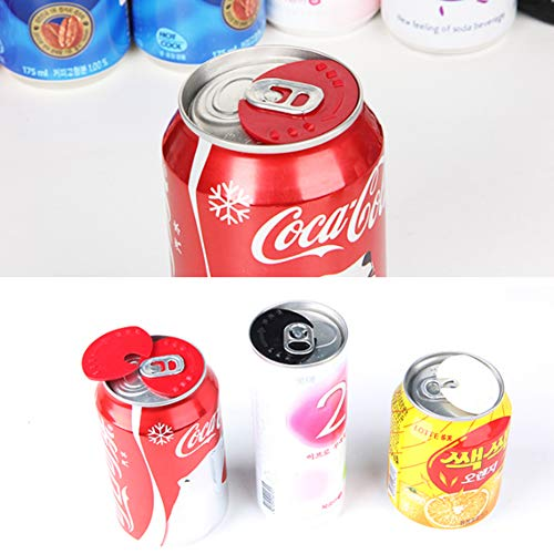 Beverage Barricade Soda Protector, Sarissa Shield Your Cans From Bugs & Dirt 5 - Can Grinder Soda