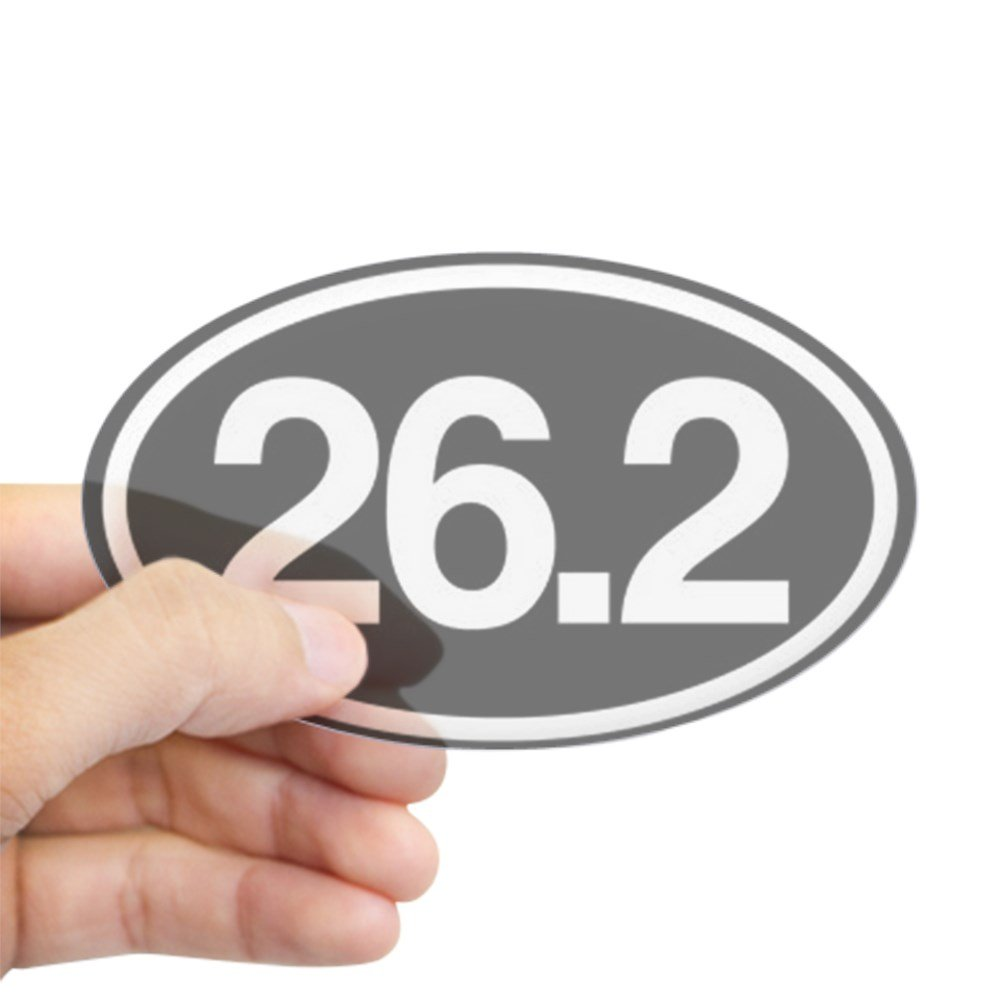 Amazon com cafepress 26 2 mile marker oval bumper sticker euro oval car decal home kitchen