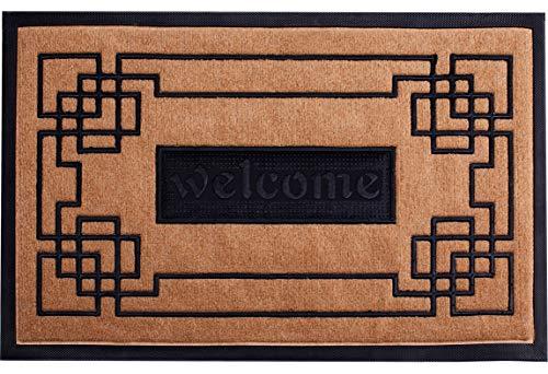 Slonser Welcome Mat Outdoor/Indoor Doormat 18