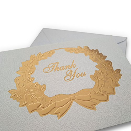 Classy Thank You Cards With Matching Envelopes & Decorative Stickers: 30 Cards + 30 Envelopes + 30 Stickers | Perfect Thank U Notes For Weddings, Birthdays, Clients, Baby Showers, Parties&More