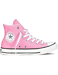 Converse All Star Hi Pink Canvas Lace Up