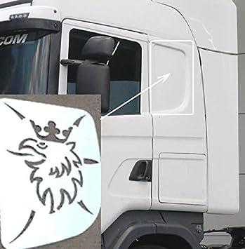 Decoración para ventana de cama de camiones, con diseño de hipogrifo ...