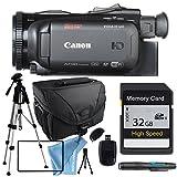Canon VIXIA HF G40 HFG40 with Tripod, 32GB SD Class 10 Memory Card, Camera Case, USB Card Reader & More