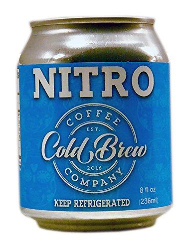 Cold Brew Coffee Co. - Nitro Cold Brew Coffee - 6 Pack