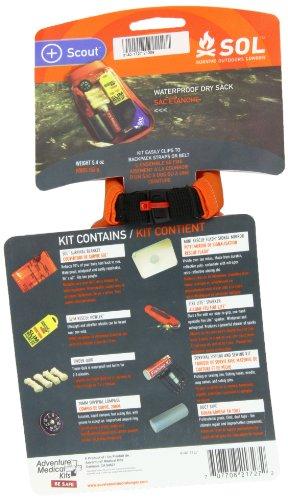 S.O.L. Survive Outdoors Longer Scout Survival Kit