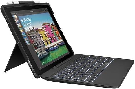 Logitech Create negro Funda con teclado inal/ámbrico retro iluminado y tecnolog/ía Smart Connector para iPad Pro 12.9