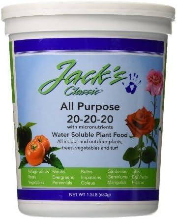 Jack's Classic All-Purpose Plant Food
