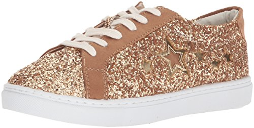 Circus by Sam Edelman Women's Vanellope-1 Sneaker, Gold/Golden Caramel, 8.5 M US