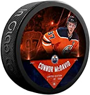 Connor McDavid Edmonton_Oilers Unsigned Fanatics Exclusive Player Hockey Puck - Limited Edition of 1000