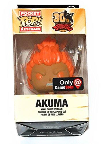 Pocket POP! Keychain: Street Fighter 30th Anniversary - Akuma (Red)