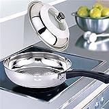 Hofumix Pot Lid Stainless Steel Universal Lid Pan