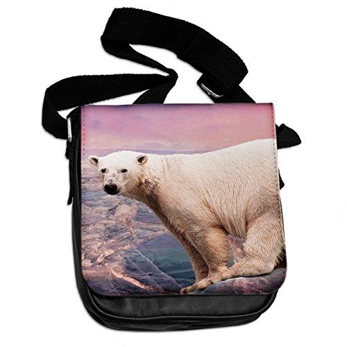 Orso polare animale borsa a tracolla 236